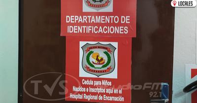 HRE cuenta con oficina de Identificación y Registro Civil