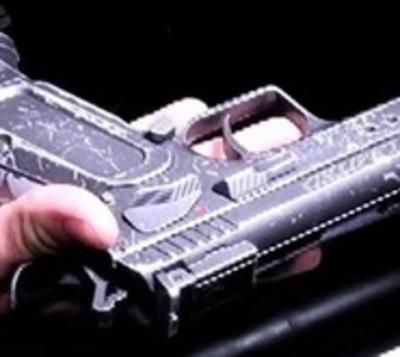 Ladrones pretendían asaltar estación de servicio con arma de juguete