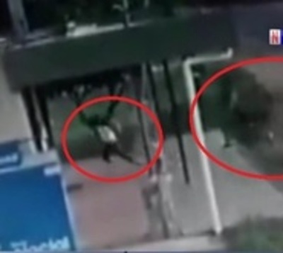 Joven se salva de milagro tras ataque de motochorros
