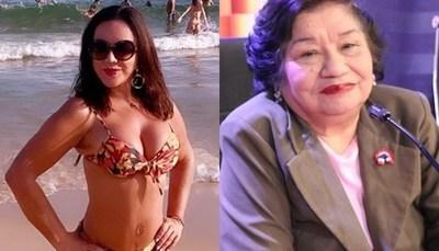 "Ña Tora trató de ""ignorante"" y ""bestia"" a Zuni Castiñeira"