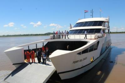 Ferry del Chaco suspende sus viajes