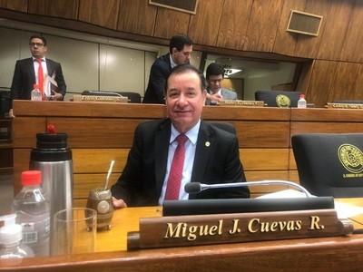 Disponen cuarto intermedio para resolver medida cautelar de Miguel Cuevas