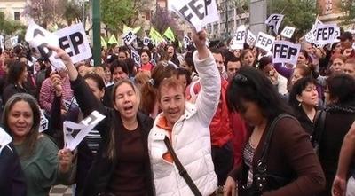 """HOY / MEC """"recuerda"""" a líder de la   FEP y otros 4 que están bajo  sumario por ocupación"""