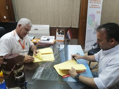 MOPC firmó contrato para la rehabilitación del Lote 7 de la Transchaco