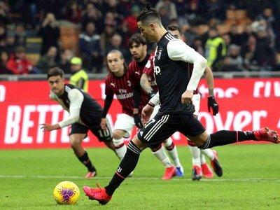 Cristiano da a Juventus un empate en la semifinal de ida ante el Milan