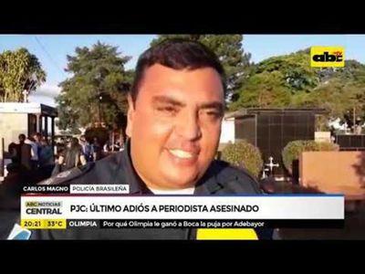 PJC: Último adiós a periodista asesinado