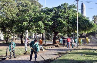 """Junta pide """"intimar"""" a Cultura para que cumpla ley que le obliga a cuidar plazas"""