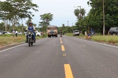 Marito habilita tramos asfaltados de interconexión en Central