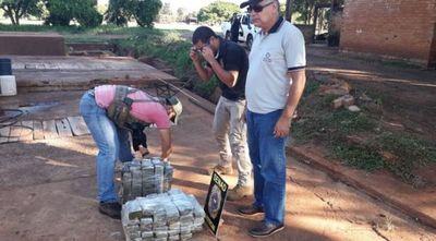 Abortan entrega de 37 kilos de marihuana en Canindeyú