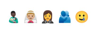 Cinco nuevos emoji para Android
