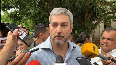 """Mario Abdo desconoce decisión del Senado: """"Creo que ya declaró emergencia ¿O no?"""""""