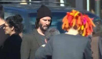 Se filtran las primeras imágenes de Keanu Reeves durante la filmación de Matrix 4