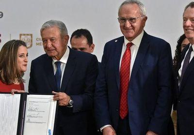 México, Estados Unidos y Canadá firman acuerdo de libre comercio