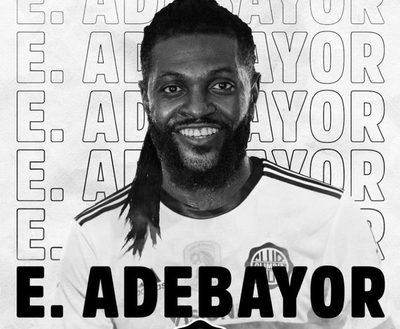Trovato dio detalles del salario de Adebayor