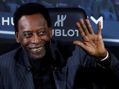 """Pelé, tras los temores sobre una depresión: """"Estoy bien"""""""