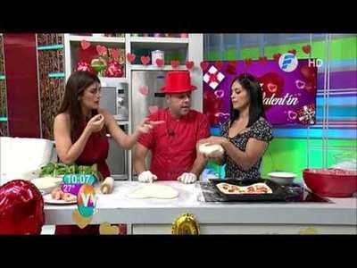 Pizza y galletitas San Valentin en Vive la Vida XL