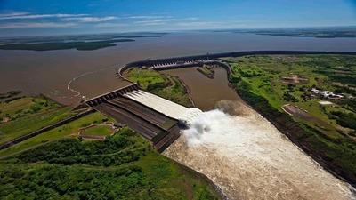Itaipú bate récord y podría abastecer al planeta Tierra por 43 días