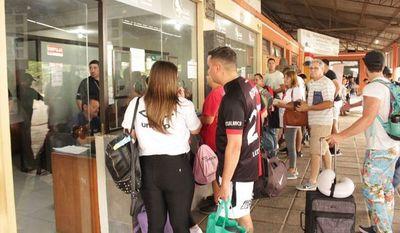 Más de 30 mil argentinos están en la capital