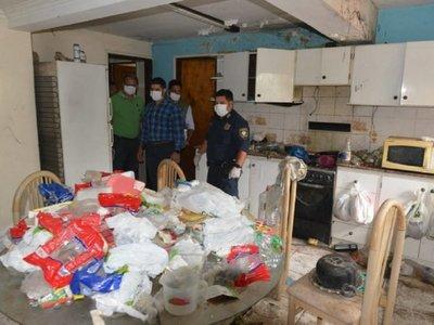 Hallan más de 20 toneladas de basura en vivienda de Asunción