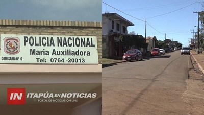GESTIONAN MAYOR SEGURIDAD PARA LA CIUDAD DE MARÍA AUXILIADORA