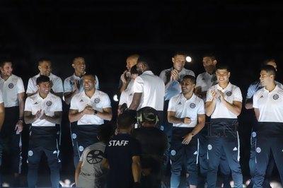 Olimpia: Se hizo la presentación del plantel en Para Uno