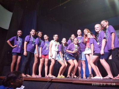 Bailarines mingueros se destacan en competencia internacional