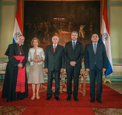 Alfredo Ratti jura como nuevo embajador ante la Santa Sede