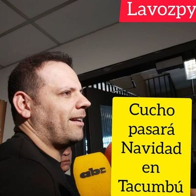 Cucho Cabañas pasará Navidad en Tacumbú