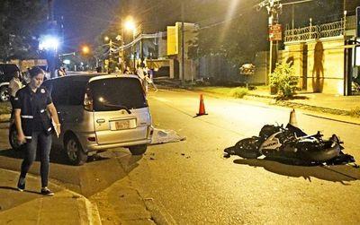Policía fallece en accidente de tránsito