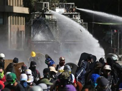 Violento Día de San Valentín en Chile