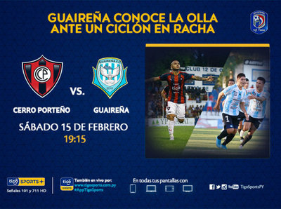 Cerro Porteño quiere seguir prendido arriba