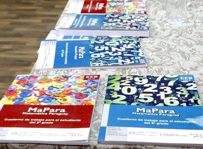 MEC suspende entrega de libros de matemáticas tras críticas