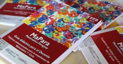 Tras escándalo por errores ortográficos, MEC suspende entrega de libros de matemáticas