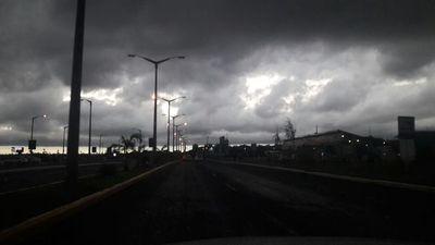 Ráfagas de viento llegaron hasta los 80 kilómetros por hora