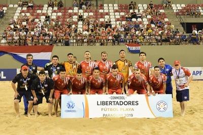 Los 'Bolleros Pynandi', Selección Nacional de Futbol de Playa, Clasificados a Cuartos de Final de la Copa Libertadores de América