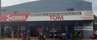 TOM MATERIALES DE CONTRUCCIÓN Y FERRETERIA