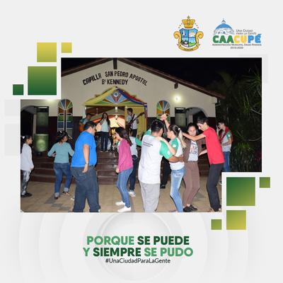 Realizan serenata a San Pedro en Caacupé