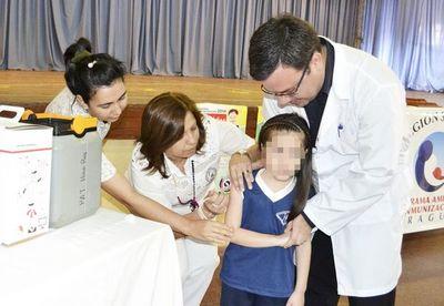 Sarampión en la región: instan a vacunar a niños