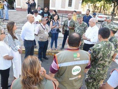 Mazzoleni aguarda declaración de emergencia sanitaria en Diputados