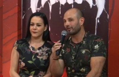 Carlos Allou se reconcilió con su pareja en pleno programa de tv