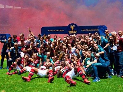 El Flamengo gana su primer título de 2020