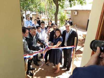 Inauguran oficina del registro civil en emboscada
