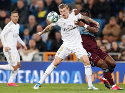 Celta le pone freno al Real Madrid en el Bernabéu