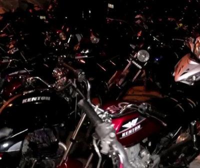 Incautan 50 motocicletas que eran utilizadas para carreras clandestinas