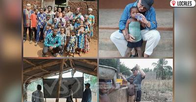 Docente Itapuense vuelve a Paraguay después de tres meses de misión en África