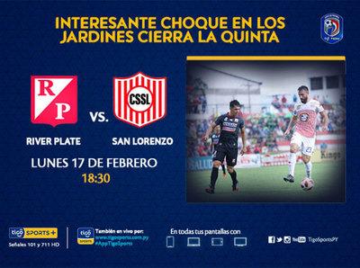 Previa del partido River Plate vs. San Lorenzo