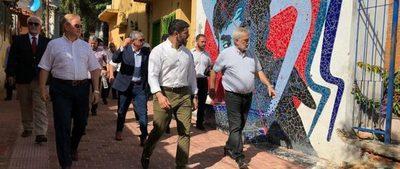 Comitiva interinstitucional verifica obras de mejoramiento en la Chacarita Alta