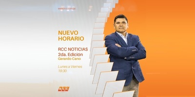 El programa informativo chaqueño RCC Noticias cuenta con nuevo horario