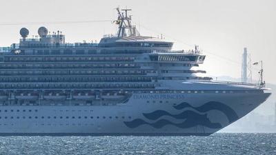 Repatrian a estadounidenses del crucero en cuarentena en Japón