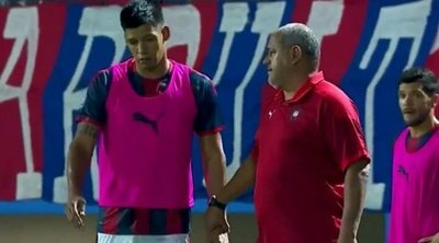 Cerro Porteño publica informe médico sobre Dos Santos